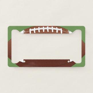 Football Design License Plate Frame