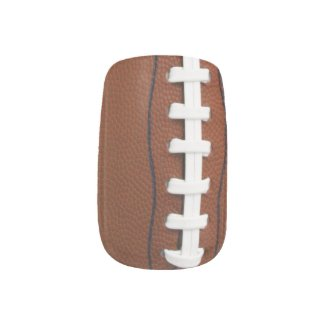 Football Design Nails
