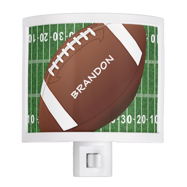 Football Design Night Light