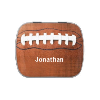 Football Design Party Favor Candy Container