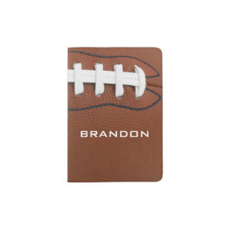 Football Design Passport Cover