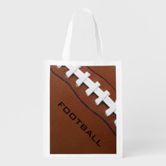 Football Design Reusable Tote