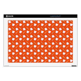Football Design Laptop Decal