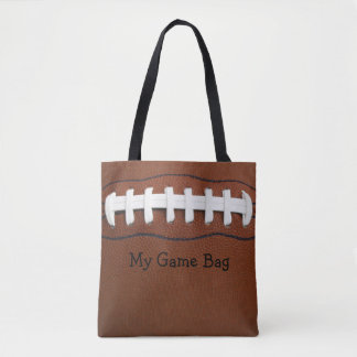 Football Design Tote Bag