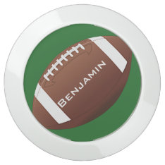 Football Design USB Charging Hub at Zazzle