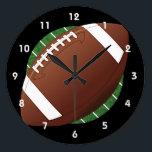 """Football Design Wall Clock<br><div class=""""desc"""">Football Design Wall Clock</div>"""