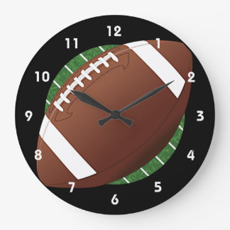 Football Design Wall Clock