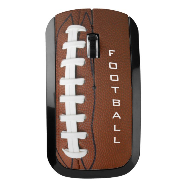 Football Design Wireless Mouse