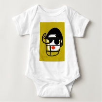 Football Diva Baby Bodysuit