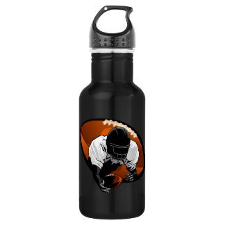 Football Diving Catch Stainless Steel Water Bottle