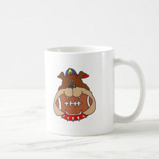 football dog mugs