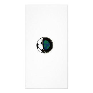 Football earth card