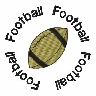 Football Embroidered Shirt