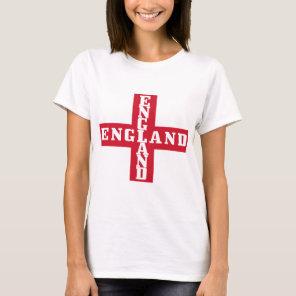 Football England St. George Cross T-Shirt