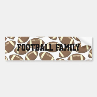 Football Family Bumper Sticker
