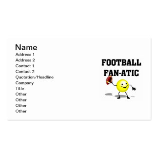 Football Fan-atic T-shirts and Gifts Double-Sided Standard Business Cards (Pack Of 100)