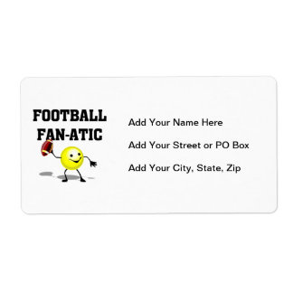 Football Fan-atic T-shirts and Gifts Label
