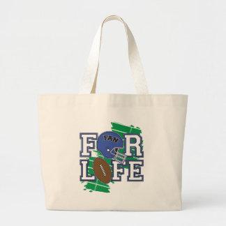 Football Fan Dark Blue Bags