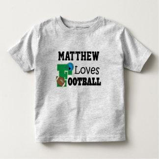 Football Fan Personalized Sports Boys Shirt
