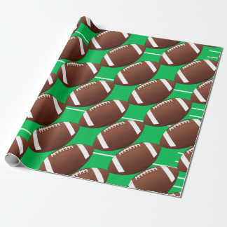 Football Fan Sports Coach Wrapping Paper