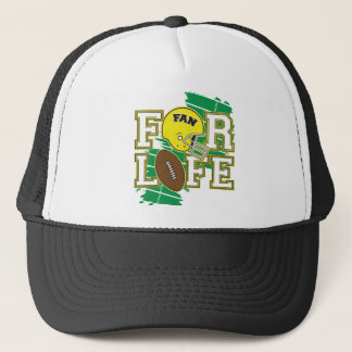 Football Fan Yellow Trucker Hat