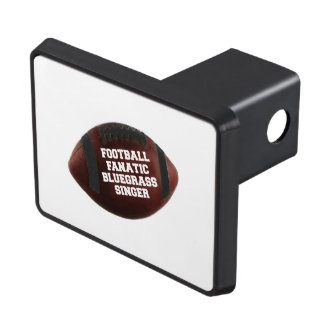 Football Fanatic Bluegrass Singer Tow Hitch Cover