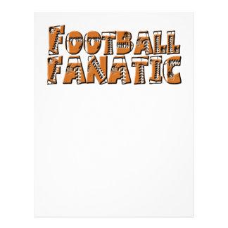 "Football Fanatic 8.5"" X 11"" Flyer"