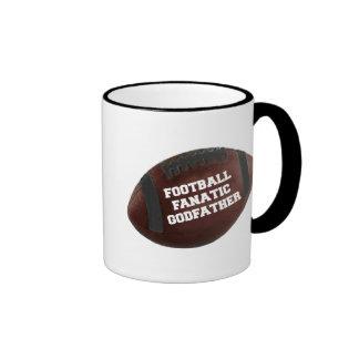 Football Fanatic Godfather Ringer Coffee Mug