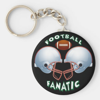 FOOTBALL FANATIC KEYCHAIN