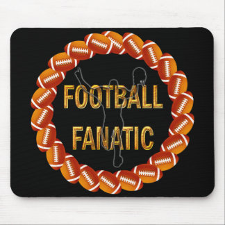 FOOTBALL FANATIC MOUSE PAD