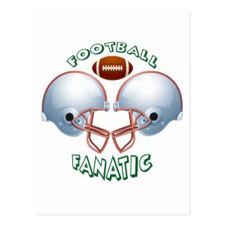 FOOTBALL FANATIC POSTCARD