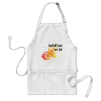 Football Fans Are Hot Adult Apron