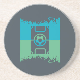Football Fans Sandstone Coaster