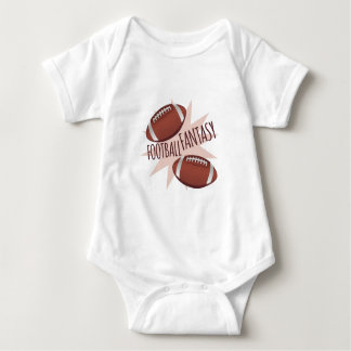Football Fantasy Baby Bodysuit