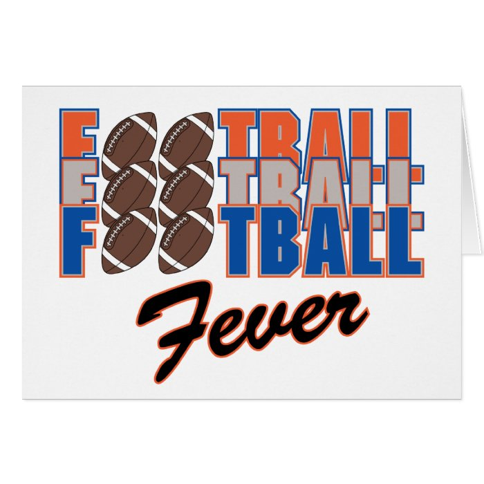 Football Fever! Card
