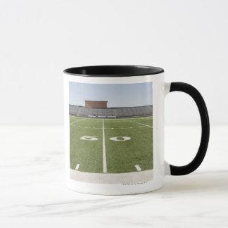 Football field and stadium mug