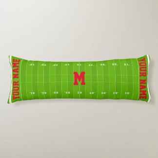 Football Field Body Pillow