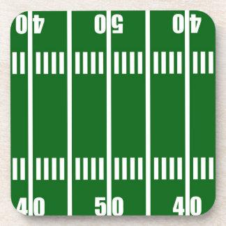 Football Field Cork Coaster