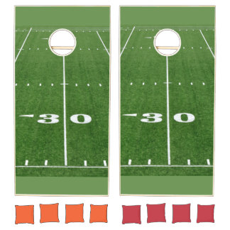 Football Field Cornhole Set