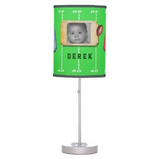 Football Field Custom Photo Lamp Shade