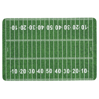Football Field Design Floor Mat