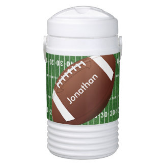 Football Field Design Igloo Beverage Cooler