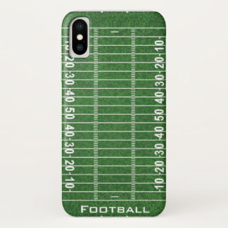Football Field Design iPhone X Case
