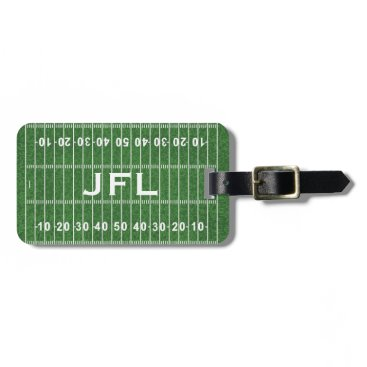 SjasisSportsSpace Football Field Design Luggage Tags