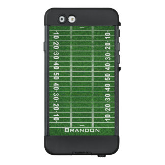 Football Field Design NUUD iPhone Case