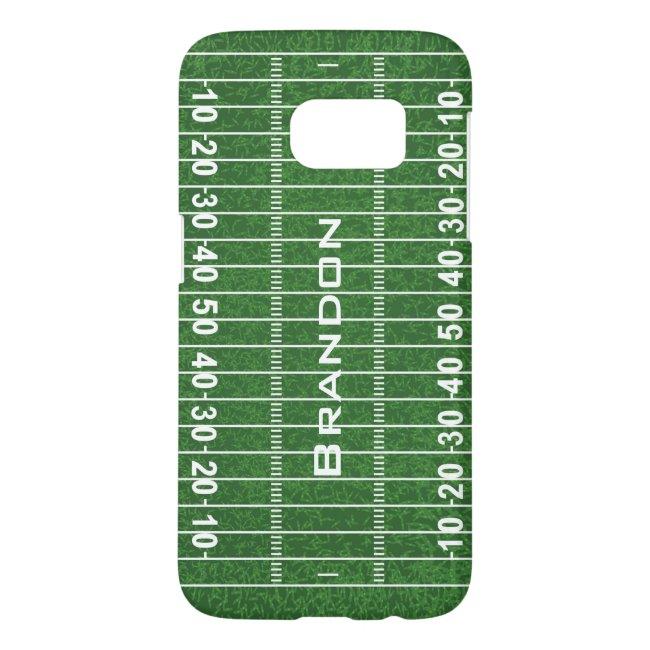Football Field Design Samsung Galaxy 7 Case Mate
