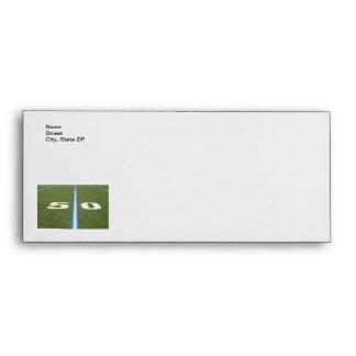 Football Field Fifty Envelopes