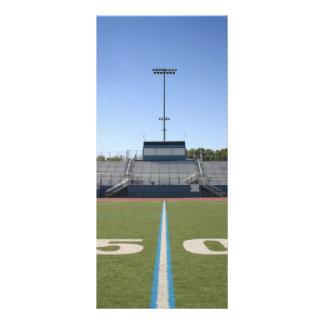 Football Field Fifty Rack Card