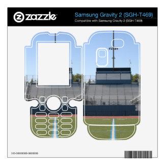 Football Field Fifty Samsung Gravity 2 Skins