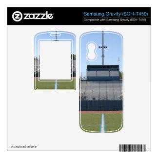 Football Field Fifty Samsung Gravity Decals